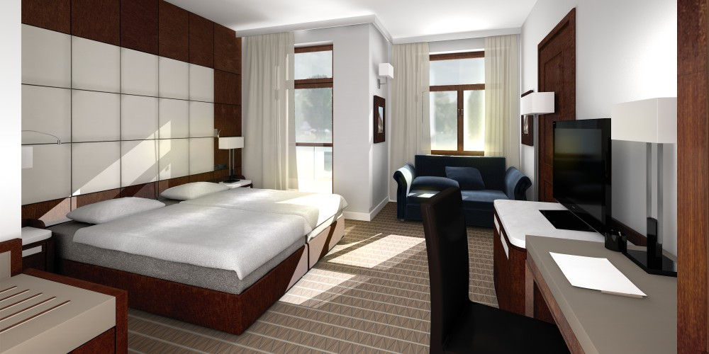 Pokój Hotel Natura Mazur