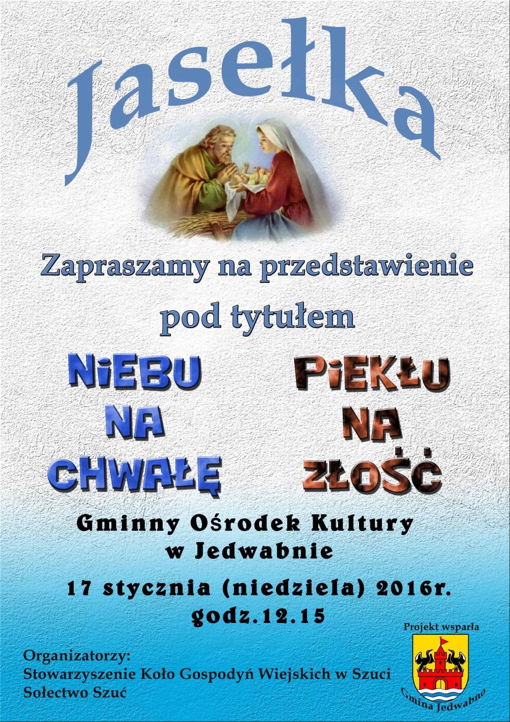 Plakat_jasełka_GOK_2015
