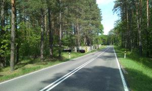 Bunkier przy drodze krajowej nr 58 przy jeziorze Priamy
