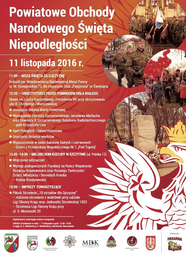 Szczytno Powiatowe Obchody Narodowego święta
