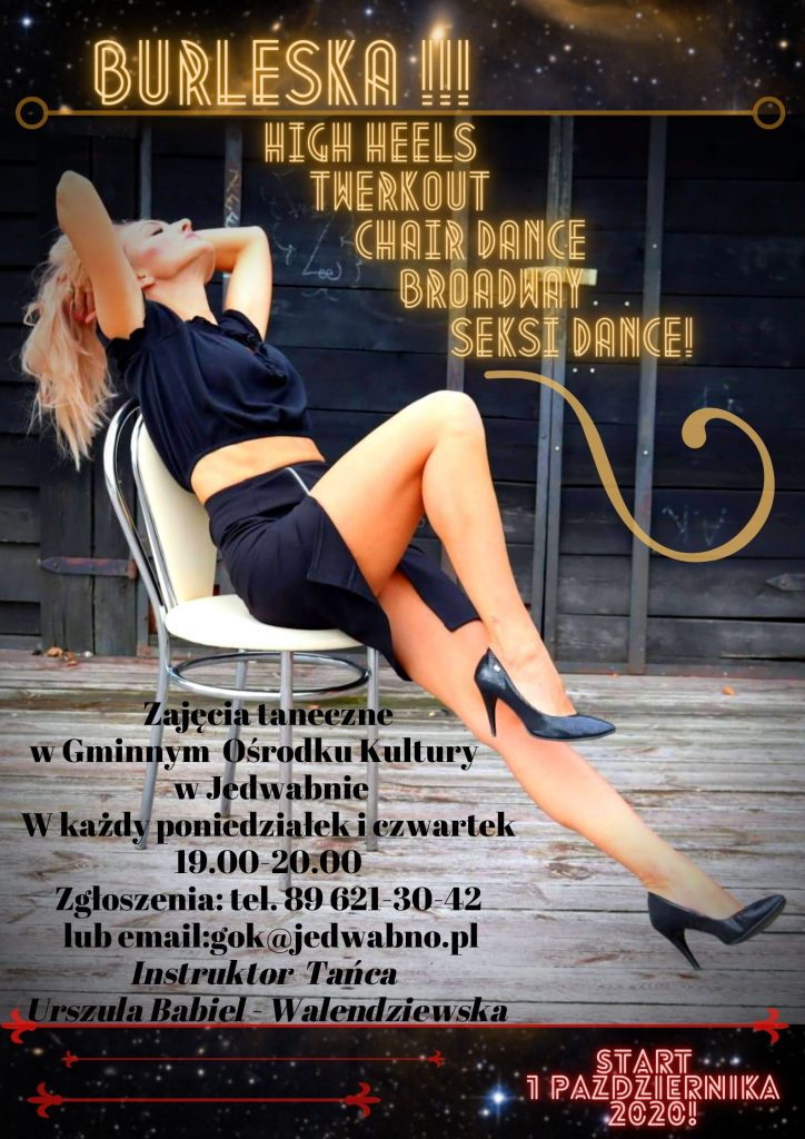 Plakat Burleska